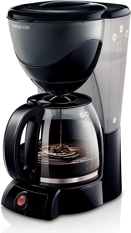 Sencor SCE 3000BK Cafetera: Amazon.es: Hogar
