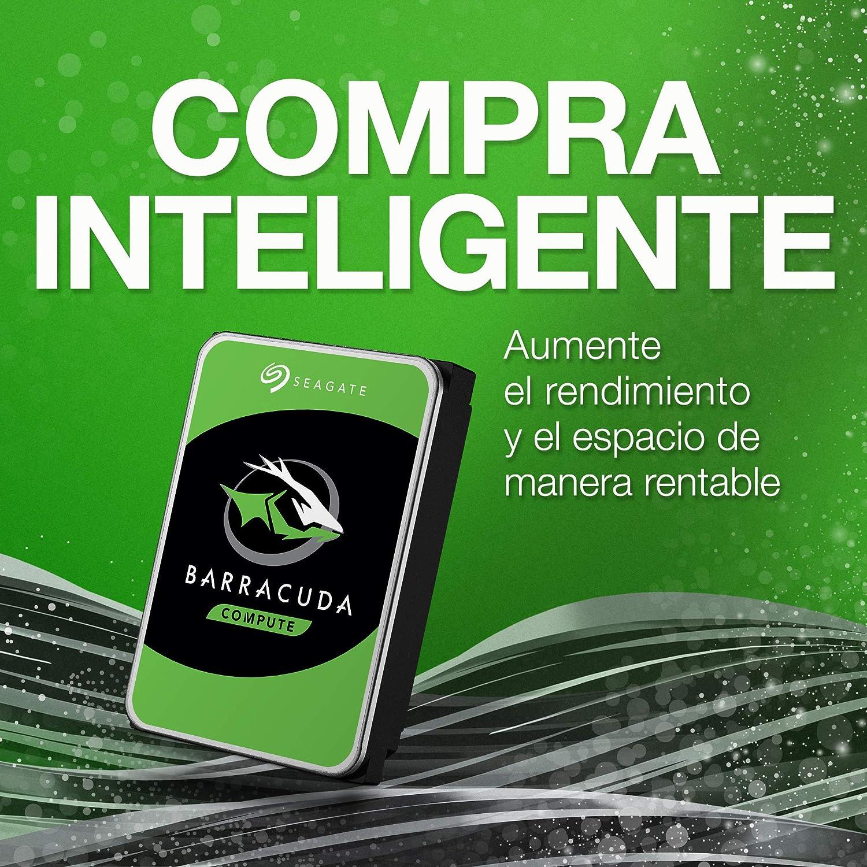 Seagate BarraCuda, 2TB, Unidad de disco duro interna, HDD, 3.5 ...