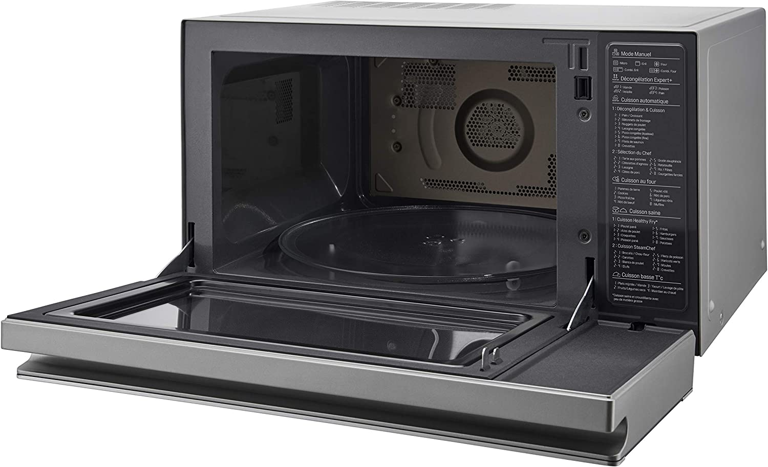 LG MJ3965ACS - Horno Microondas con Grill Smart Inverter ...