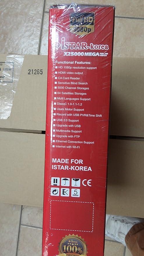 iStar X25000 Full Hd Free Arabic Channel Iptv Box, Arabic