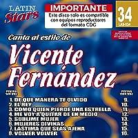 Karaoke: Vicente Fernandez 3 - Latin Stars Karaoke