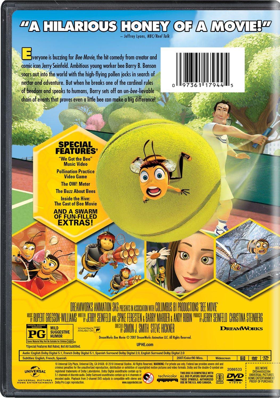 Bee Movie Dvd 2007 Region 1 Us Import Ntsc Amazon Co Uk Dvd Blu Ray