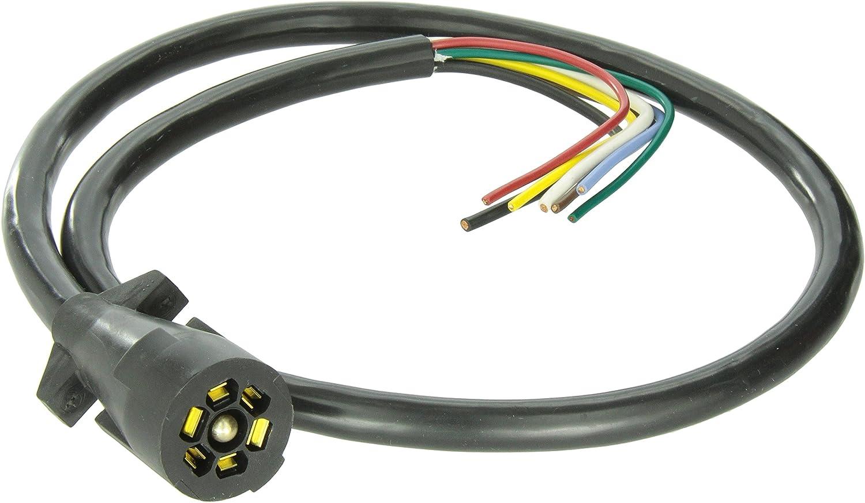 bargman rv plug wiring amazon com bargman 50 67 614 7 way trailer connector automotive  67 614 7 way trailer connector