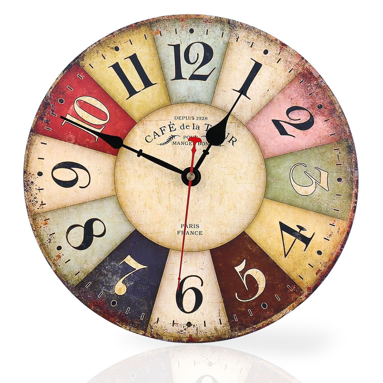 Relojes de pared cocina finest envo gratis pulgadas de - Relojes de cocina modernos ...