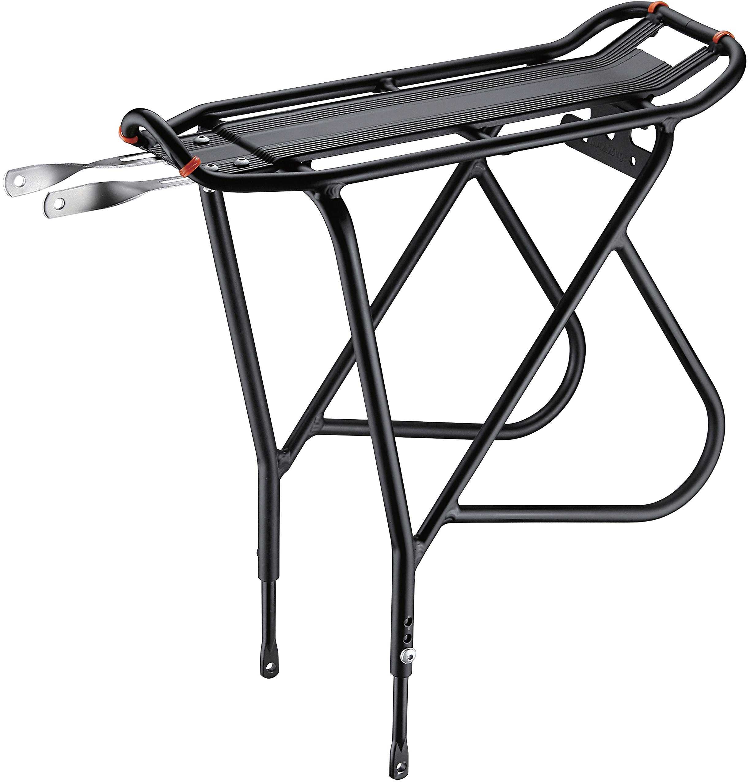 Ibera Bike Rack - Bicycle Touring Carrier with Fender Board, Frame-Mounted for Heavier Top & Side Loads, Height Adjustable for 26''-29'' Frames by Ibera (Image #1)