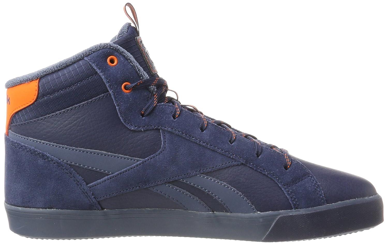 Reebok Royal Complete 2mw, Sneaker Uomo, Multicolore (Collegiate Navy/Smoky Indigo/Energy Orange), 44 EU