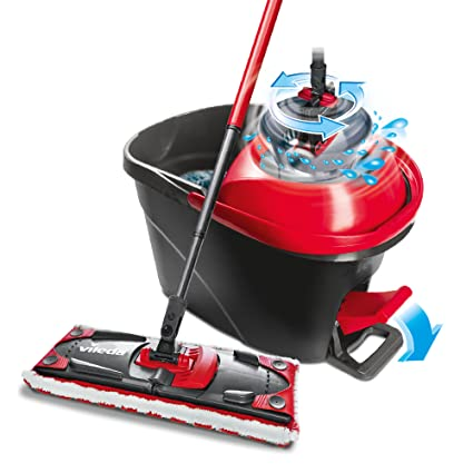 Vileda Ultramat Turbo Flat Mop and Bucket Set