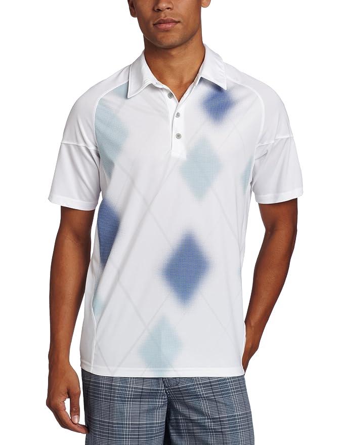Oakley Hombre creíble Polo, Hombre, Blanco: Amazon.es: Deportes y ...