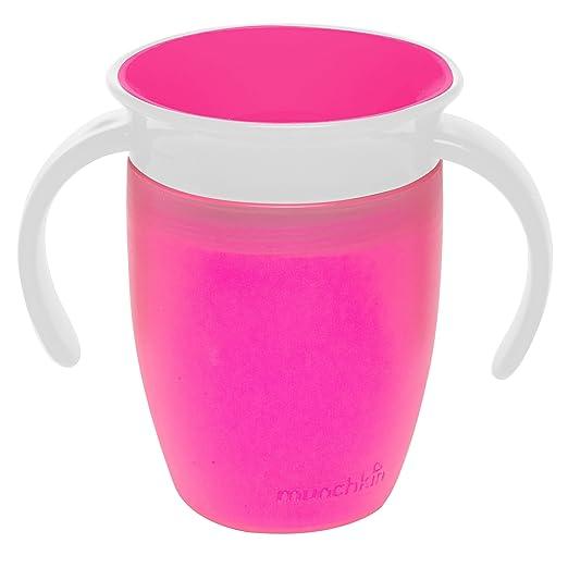 18 opinioni per Munchkin Miracle 360- Bicchiere per transizione dal biberon, 207 ml, 1 pz,