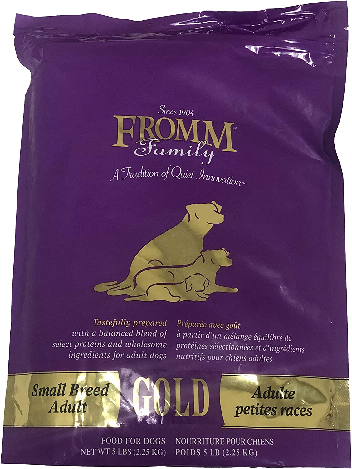 Fromm Small Breed Adult Gold Dog Food, 5-Pound Bag