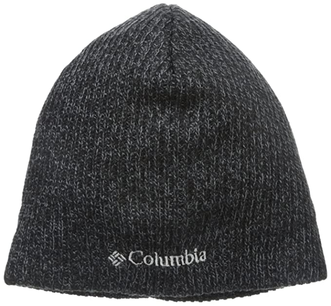 Columbia Men's Whirlibird Watch Cap Beanie, Black/Graphite Marled, One Size
