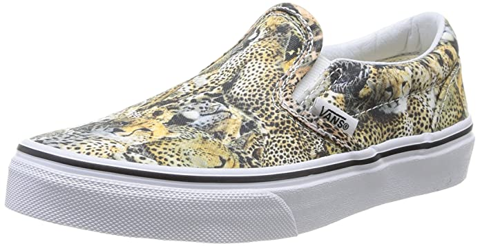 Vans Kids Classic Slip on Gepard Animal Print