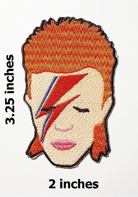 David bowid Bowie Ziggy Stardust parche chaqueta camiseta parche ...