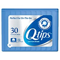 Deals on Q-tips Swabs Travel Pack 30 Count