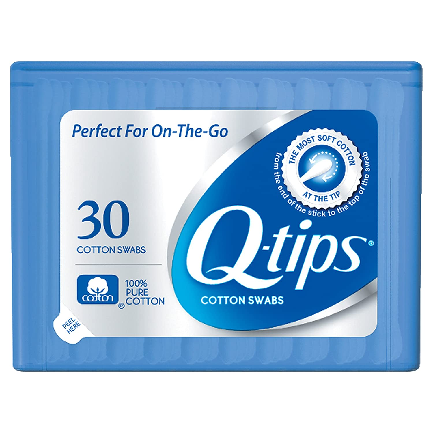Q-tips Cotton Swabs, 500 Count (Pack of 4) Unilever