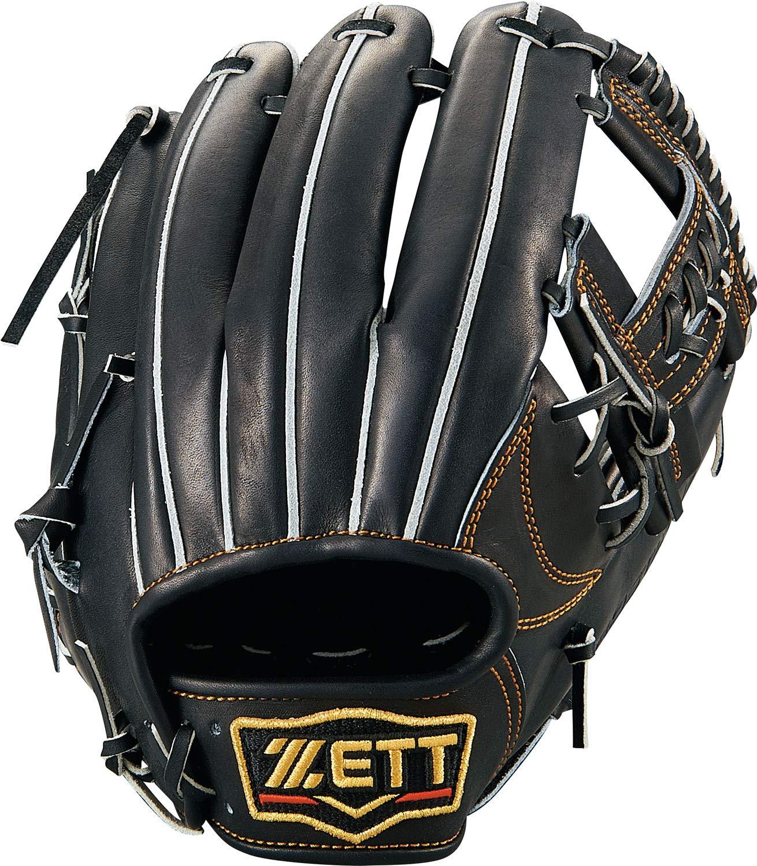 カウくる ZETT(ゼット) 硬式野球 プロステイタス 硬式野球 グラブ 日本製 (グローブ) セカンドショート用 BPROG640 右投げ用 日本製 BPROG640 B07K3J4WMH ブラック, チクマシ:a94c1916 --- a0267596.xsph.ru