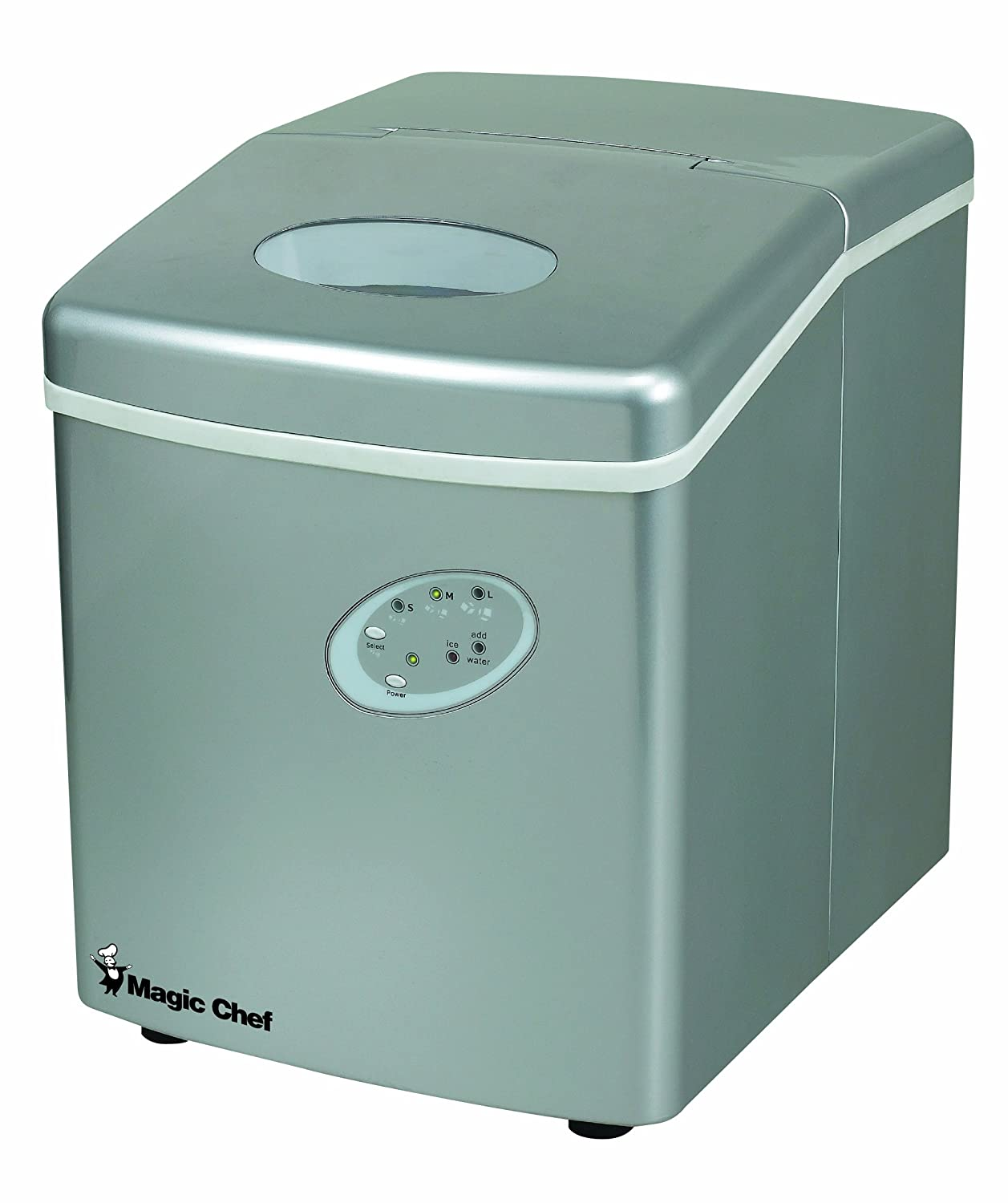 Magic Chef MCIM22TS 27lb Ice Maker