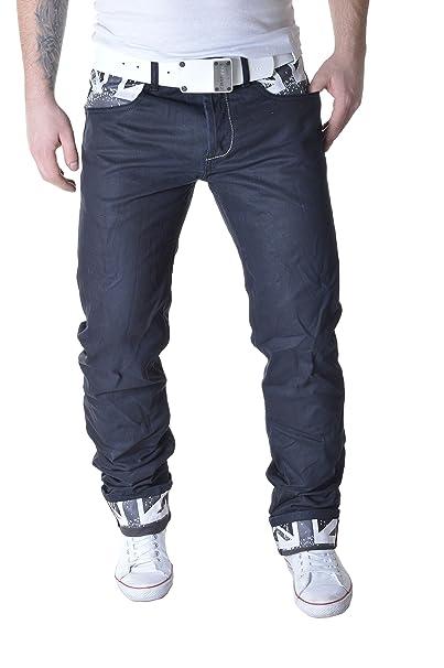 Amazon.com: Sexto Junio de los hombres Jeans Pantalones ...