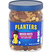 PLANTERS Mixed Nuts, Lightly Salted, 27 oz. Resealable Jar - Lightly Salted Nuts with Less than 50% PeanutsNuts are…