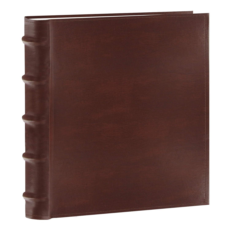Albums & Refills LEDMOMO Scrapbook DIY Vintage Leather Photo Album Pictures Storage Book Anniversary Wedding Birthday Gift Dark Brown Home & Kitchen