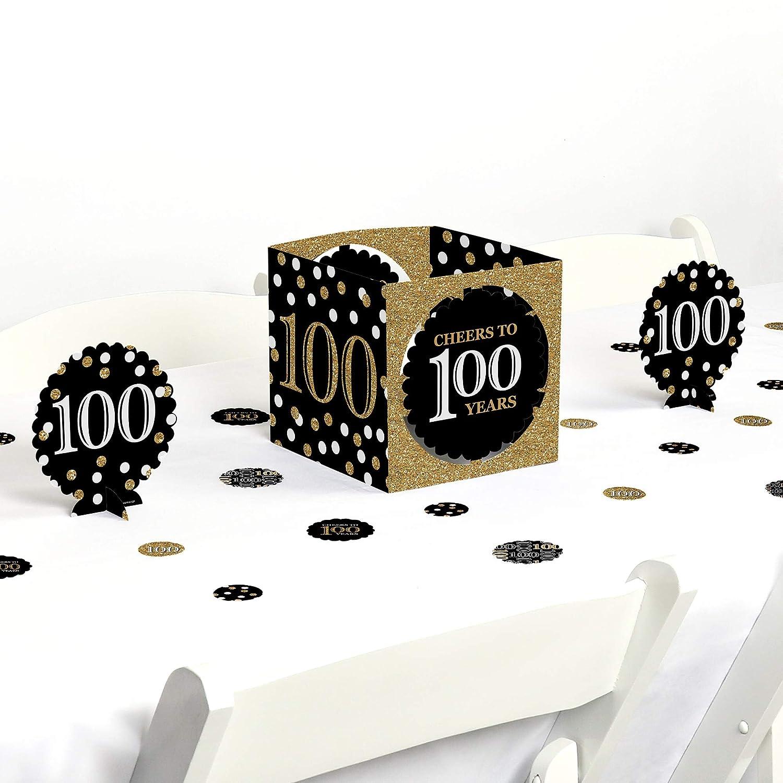 Amazon Big Dot Of Happiness Adult 100th Birthday