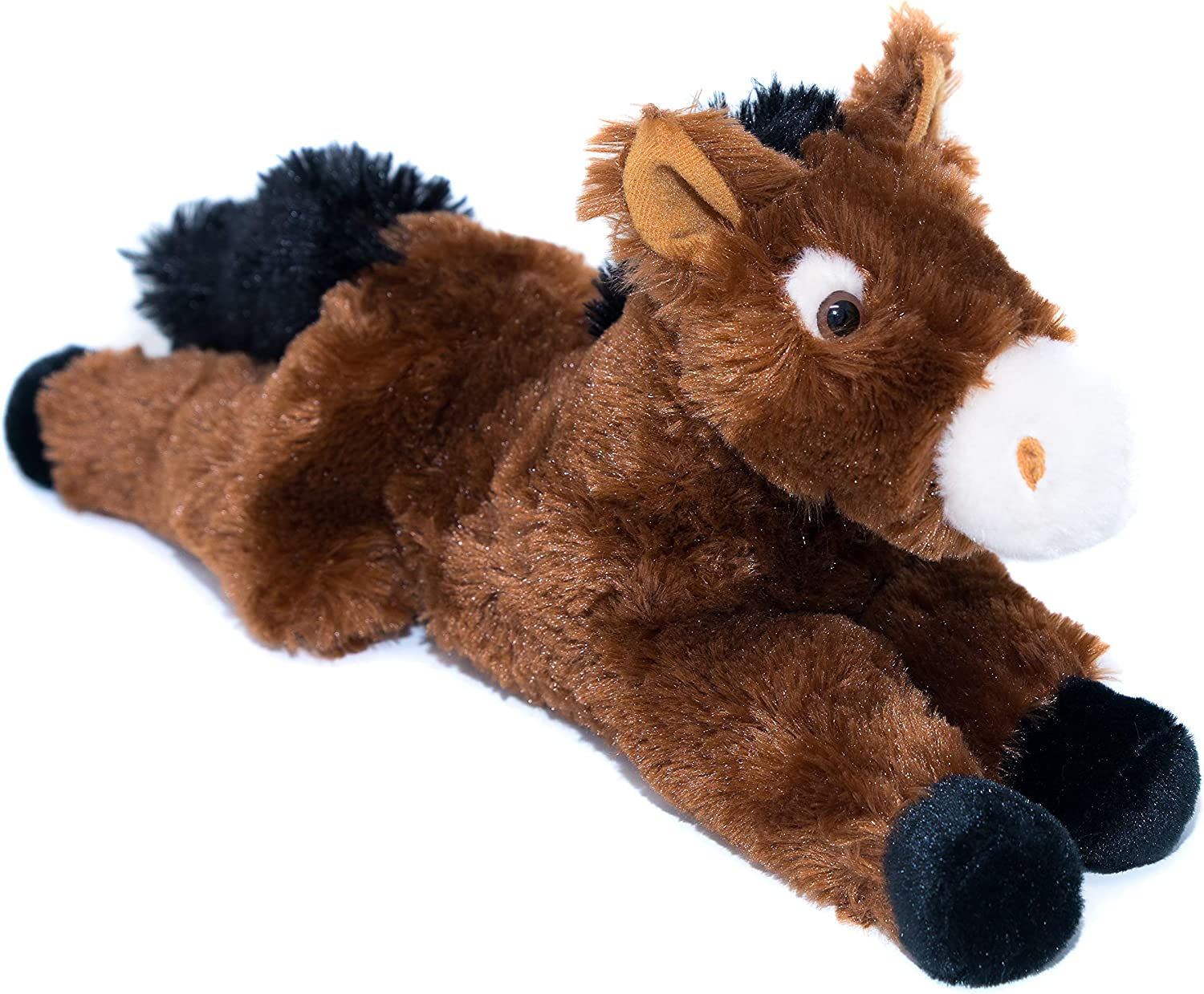 """14"""" Horse Stuffed Animal - Ultra Soft Stuffed Horse Designed with Superior Softness – Perfect Size Horse Plush - Easy to Carry & Snuggle - Realistic Cute Horse Toy - Bring A New Horse Home to Ages 3+"""