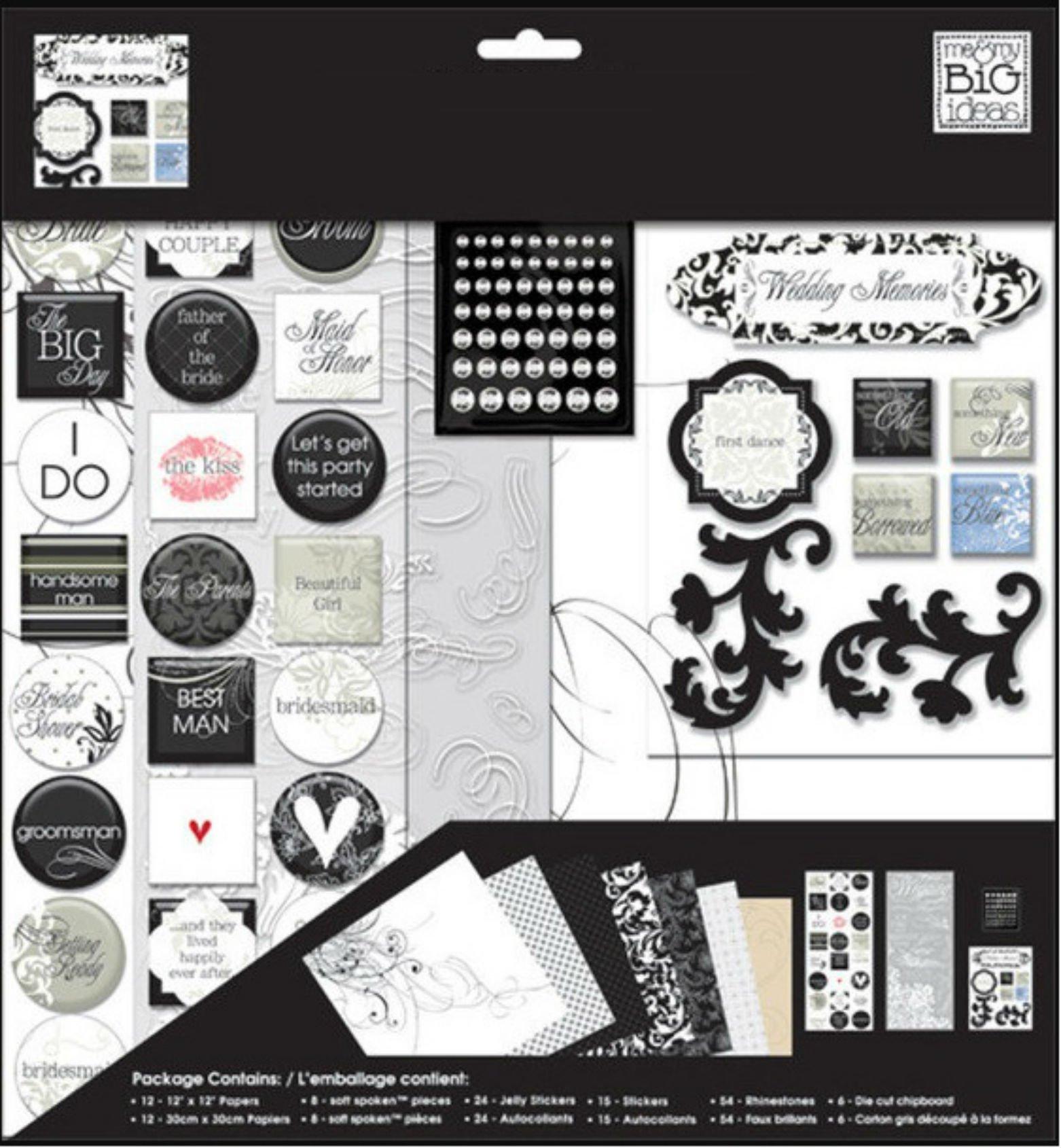 Me & My Big Ideas Mambi Kit ''Wedding Memories: Scrapbook Theme Pack