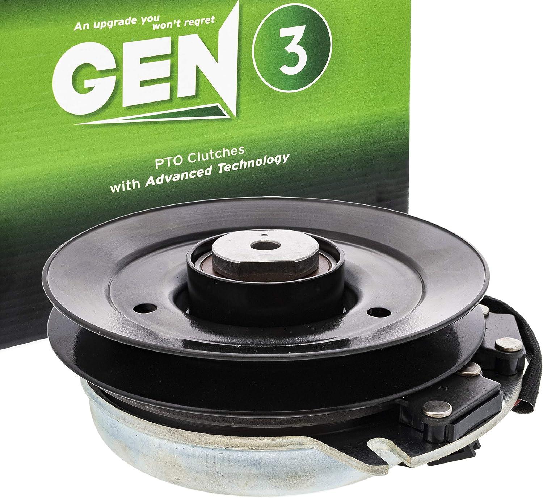 8TEN Gen 3 Electric PTO Clutch for Exmark Warner Lazer Z HP 523 Zero-Turn Mower 109-9275 5218-210 5218-173