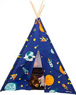 Glow in the dark teepee style play tent - 100% cotton canvas - over 5  sc 1 st  Amazon.com & Amazon.com: HABA Room Tent Marrakesh: Toys u0026 Games