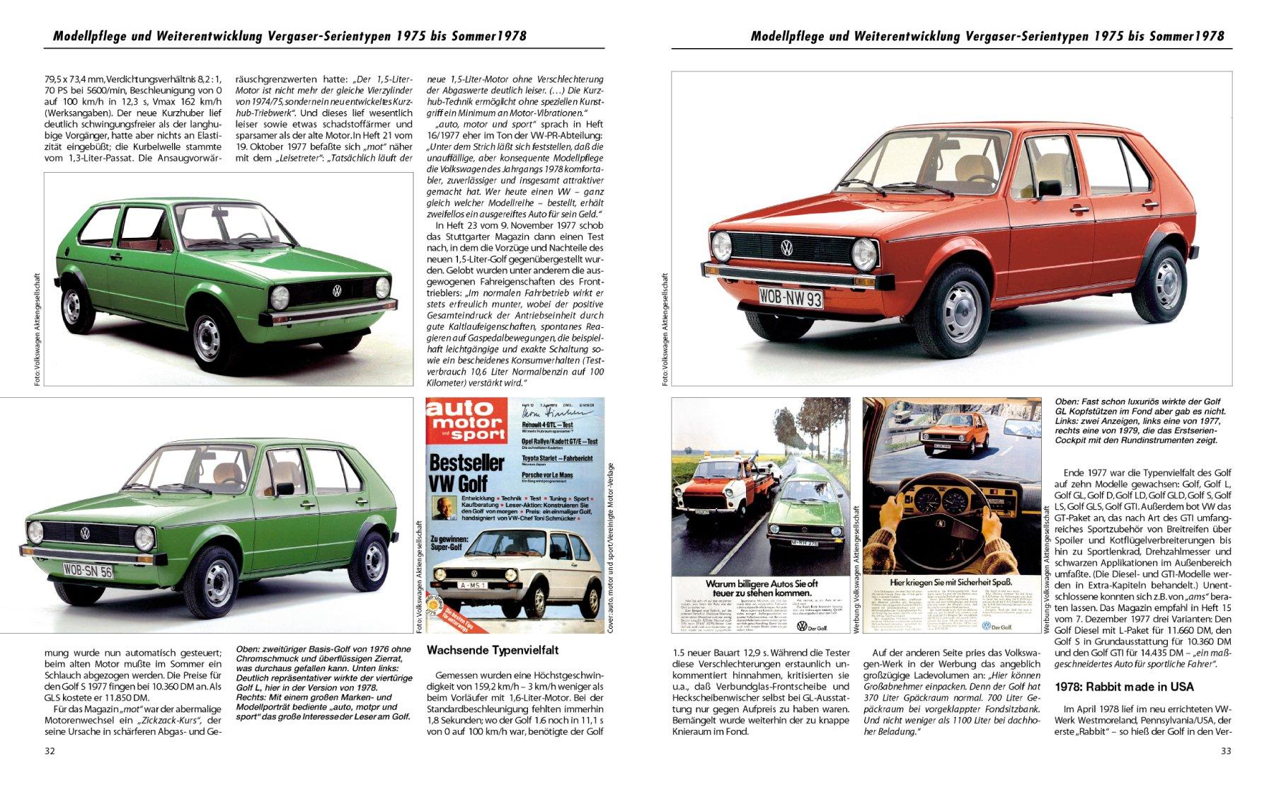 VW Golf 1: Modellgeschichte, Kaufberatung, Pannenhilfe Passion ...