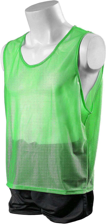 Kwik Goal Hi-Vis Scrimmage Vest, Green, Adult : Soccer Training Aids : Clothing