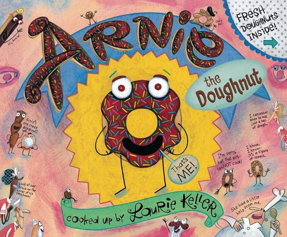 Arnie, the Doughnut The Adventures of Arnie the Doughnut: Amazon ...