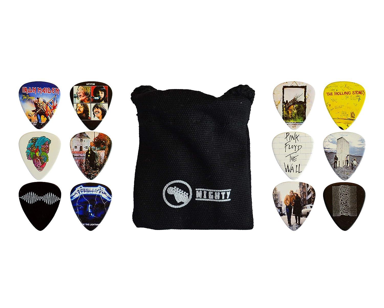 12 x Álbumes Clásicos Conjunto Guitar Pick Guitarras para todos ...