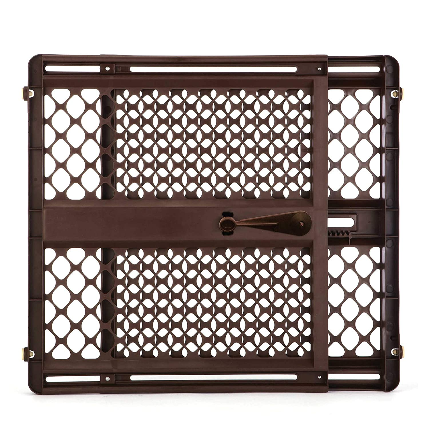 North States Mypet 8P8735 Pet Gate Essential, Brown