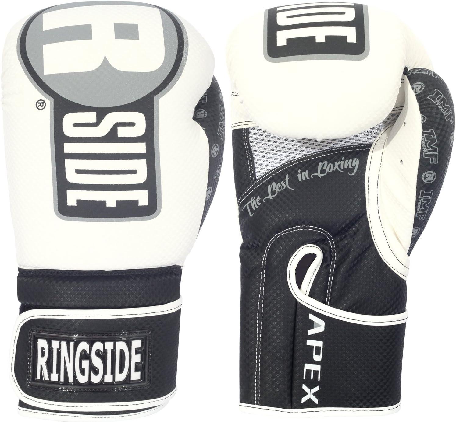 Ringside Apex Boxing Kickboxing Muay Thai Training Gloves Gel Sparring Punching Bag Mitts