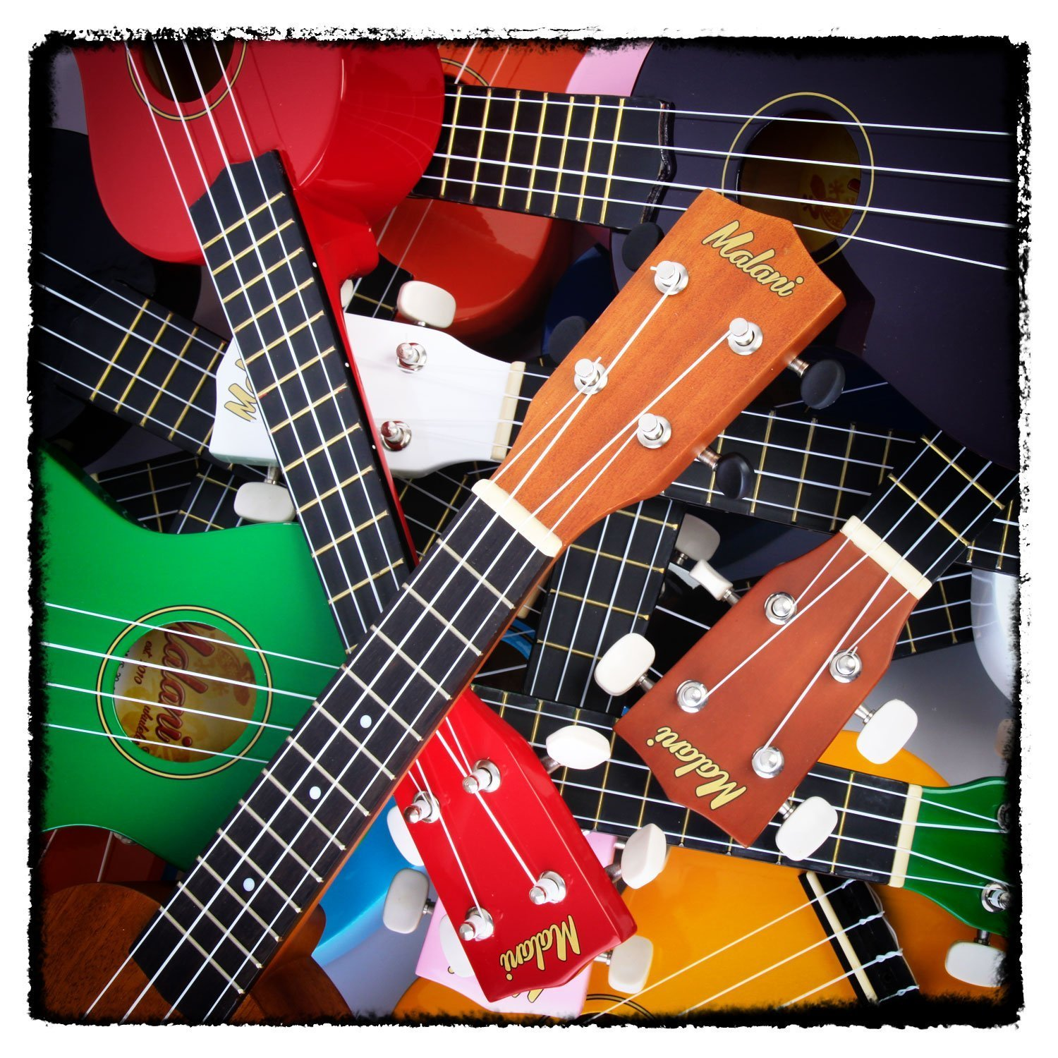 best black soprano ukulele with bag great fun for ***** beginners