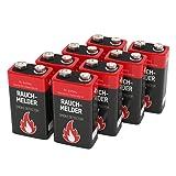 Amazon Price History for:Ansmann 9V Alkaline Battery for Smoke Detectors Battery, Red , 8-Pack (1515-0006-590-1)