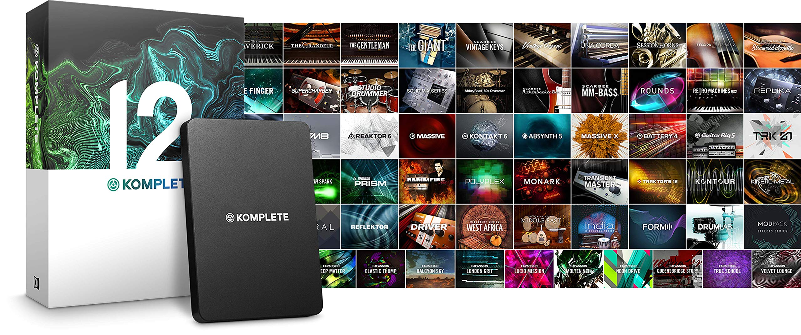 Native Instruments Komplete 12 Software Suite