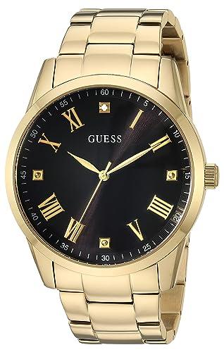 075c89e5c194 GUESS Reloj de Cuarzo de Acero Inoxidable para Hombre
