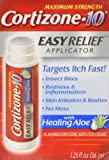 Cortizone 10 Hydrocortisone Anti-Itch Liquid Easy Relief Applicator-1.25, oz.