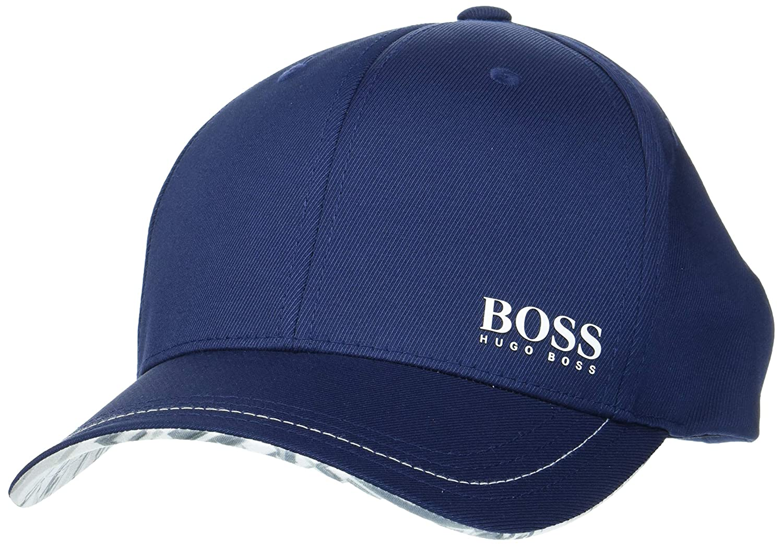 BOSS Cap Logarithm Gorra de béisbol, Azul (Navy 410), Talla única ...