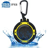 ZeroLemon ToughSound Portable Wireless Bluetooth Speaker (Lemon Yellow)