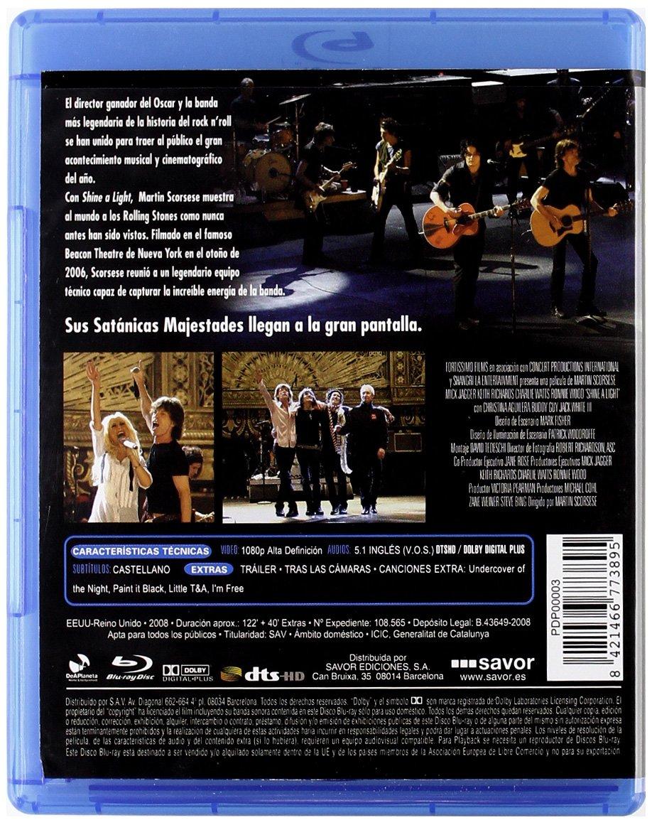 Shine A Light [Blu-ray]: Amazon.es: Mick Jagger, Keith ...