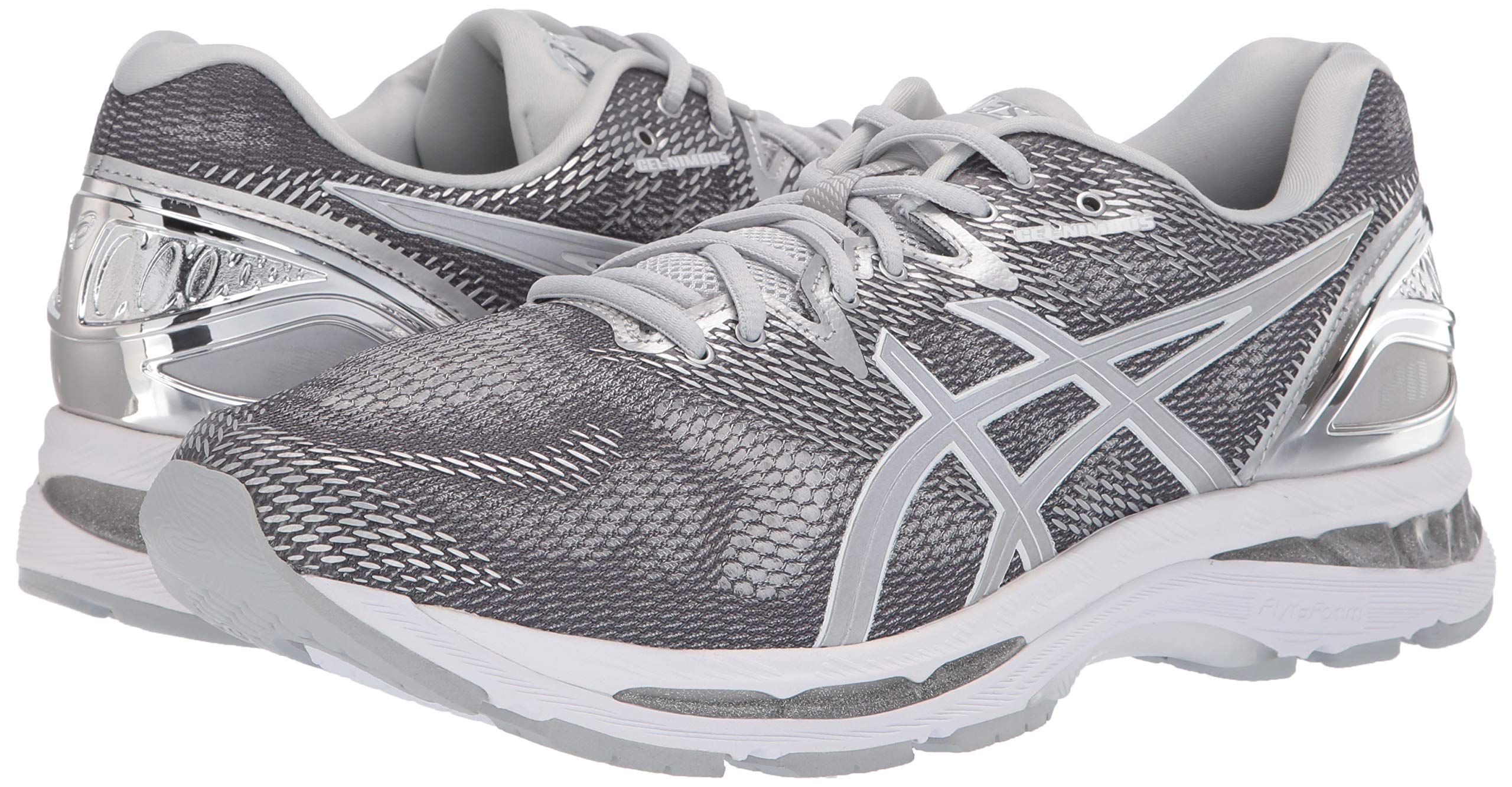ASICS Mens Fitness/Cross-Training Trail Running Shoe, Carbon/Silver/White, 7 Medium US by ASICS (Image #5)
