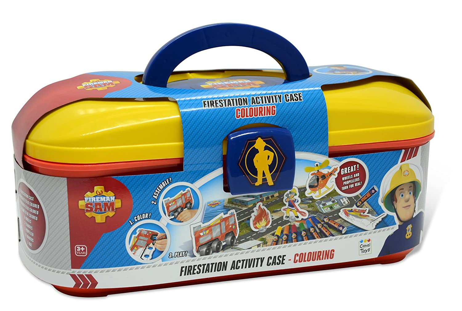 Fireman Sam Firestation Activity Case  sc 1 st  Amazon UK & Fireman Sam Wendy Tent: Amazon.co.uk: Toys u0026 Games