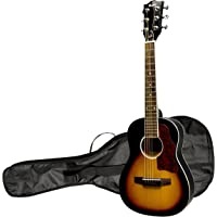 """Maestro by Gibson 30"""" Mini Acoustic Guitar with Gig Bag, Vintage Sunburst"""