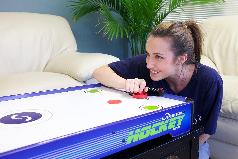 Amazon.com : Sport Squad HX40 Electric Powered Air Hockey Table : Air Hockey  Equipment : Sports U0026 Outdoors