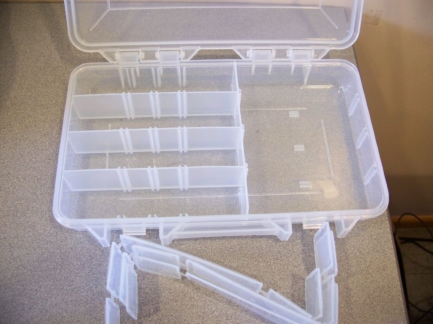 Plano Prolatch Stowaway Storage with Adjustable Dividers 3650 Series