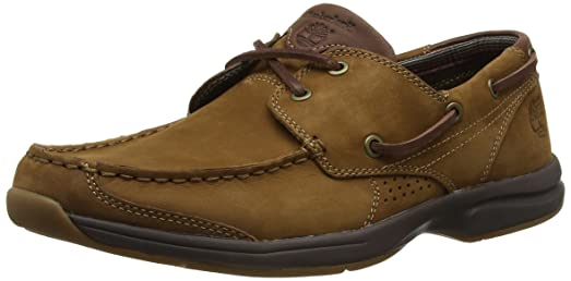 Earthkeepers Hull Cove Mens Leather Deck Shoes