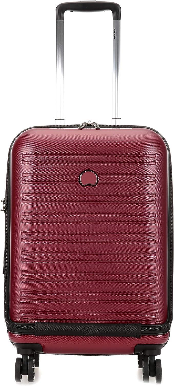 DELSEY Paris Segur 2.0 Equipaje de Mano, 55 cm, 42.9 litros, Rojo